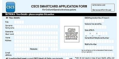 CSCS Craft application Form