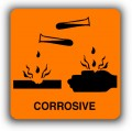 Corrosive, may burn your skin