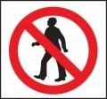 No Access By Foot